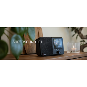Pinell Supersound 101 - Portable digitale radio -DAB